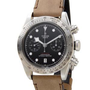 チュードル TUDOR 時計 79350-L チュードル ヘリテージ ブラックベイ クロノグラフ 替えベルト付き ブラック メンズ 腕時計|s-select