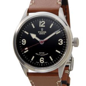 チュードル TUDOR ヘリテージ レンジャー 79910 革ベルト メンズ 腕時計 替えベルト付|s-select