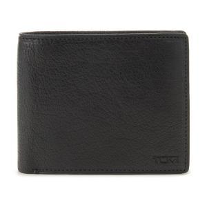 トゥミ 財布 二つ折り財布 SIERRA/シエラ 16637BK ブラック メンズ財布 TUMI ブランド|s-select