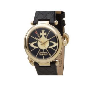 ヴィヴィアンウエストウッド VIVIENNE WESTWOOD 時計 006BKGD オーブ ゴールド×ブラック レディース 腕時計 新品【送料無料】|s-select