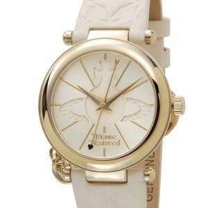 ヴィヴィアンウエストウッド VIVIENNE WESTWOOD 時計 006WHWH オーブ ゴールド×クリーム レディース 腕時計【送料無料】|s-select