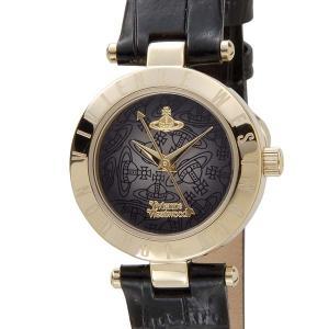 ヴィヴィアンウエストウッド VIVIENNE WESTWOOD レディース 腕時計 ブラック×ゴールド VV092BKBK|s-select