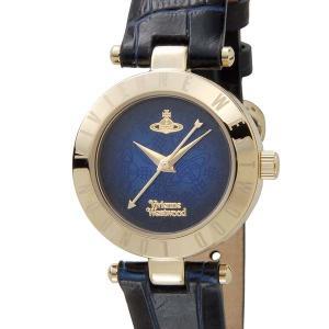 ヴィヴィアンウエストウッド VIVIENNE WESTWOOD レディース 腕時計 ネイビー×ゴールド VV092NVNV|s-select
