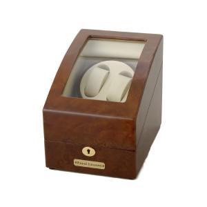 訳あり 小キズが数ヵ所ございます。ロイヤルハウゼン  時計収納ケース付きワインダー2本巻3本収納  GC03 S31 ワインディングマシーン s-select