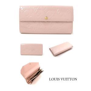 わけあり ルイヴィトン 長財布 M90081 LOUIS VUITTON ポルトフォイユ サラ ヴェルニ 上部にシミあり メールお問合せ対応商品/電話不可 返品不可 ブランド|s-select