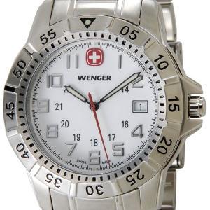 ウェンガー WENGER 72617 メンズ腕時計 マウンテイナー ホワイト/シルバー ミリタリー アウトドア 時計|s-select