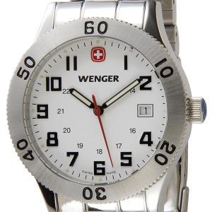ウェンガー WENGER メンズ腕時計 フィールドグレネーダ...