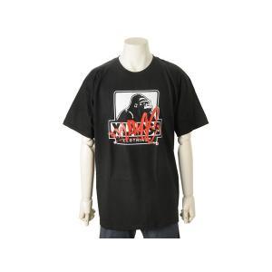 エクストララージ XLARGE メンズ 半袖 Tシャツ (L) MASSIVE SS TEE ブラック