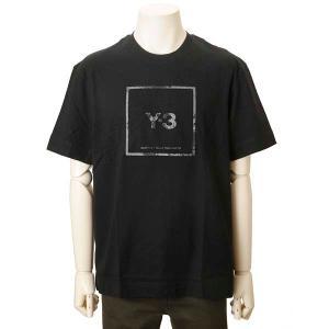 クリアランスセール Y-3 ワイスリー Tシャツ メンズ ブラック GV6060 アディダス×ヨウジヤマモト ロゴTシャツ s-select