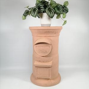 鉢 プランター グラスファイバー 植木鉢 鉢カバー ガーデニング雑貨 フラワースタンドガーデンポスト CN-GFB140|s-toolbox