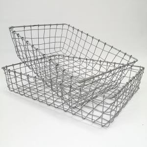 バスケット かご ワイヤー アイアン ガーデニング雑貨 ワイヤーバスケット CV-04-3529|s-toolbox