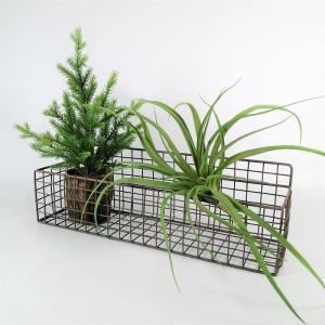 バスケット かご ワイヤー アイアン ガーデニング雑貨 ワイヤープランターS CV-04-3851|s-toolbox
