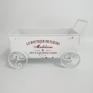 鉢 プランター ブリキ ブリキポット バケツ 植木鉢 鉢カバー ガーデニング雑貨 ワゴンプランター MT-7130|s-toolbox