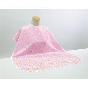 (まとめ)ピジョン 食事用エプロン 肩までおおえる食事エプロン (1)ピンク(花柄) 11241〔×5セット〕佐川急便で発送します|s-waza