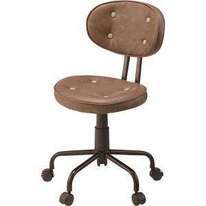 【商品名】 (2脚セット)東谷 デスクチェア(椅子) 昇降機能付き スチール/ソフトレザー KGI-...