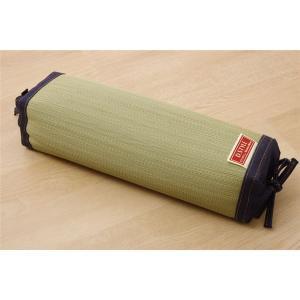 枕 まくら い草枕 消臭 ピロー 国産 デニム 高さ調整 『マイル 角枕ロング 』 約40×15cm...