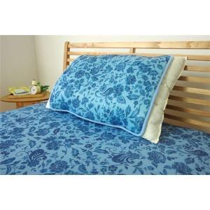 【商品名】 冷感 枕パッド/寝具 【プリント 約40cm×50cm】 洗える 低反発 接触冷感 『ツ...
