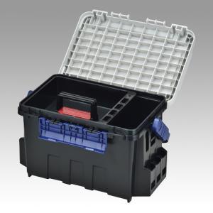 バケットマウス BM-9000 35L 本体カラー:ブラック/蓋カラー:オフホワイト 1台|s-waza