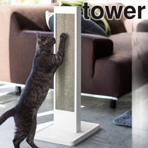 猫が立ったまま背伸びして爪とぎができるスタンド。 研ぎカスは下のトレーに直接落ちるからお手入れもラク...