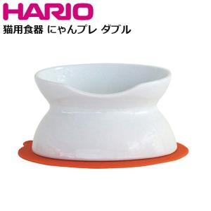 HARIO 猫用フードボウル にゃんプレ ダブル PTS-NYD s-zakka-show