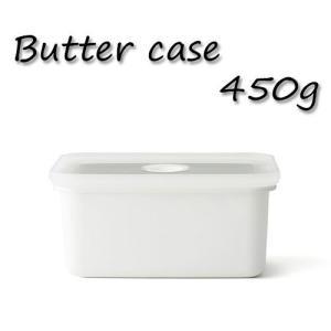 バターケース おしゃれ 琺瑯 密閉 450g 富士ホーロー|s-zakka-show