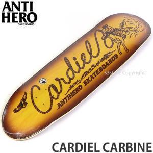 アンタイヒーロー カーディエル カービン ANTIHERO CARDIEL CARBINE スケートボード スケボー デッキ 板 シグネチャー サイズ:9.18 x 32.62|s3store
