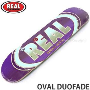 リアル オーバル デュオフェード REAL OVAL DUOFADE スケートボード スケボー 板 ...
