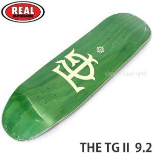リアル ザ トミーゲレロ 2 REAL THE TG II 9.2 スケートボード スケボー 板 デ...