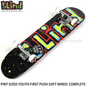ブラインド ソフト ウィール コンプリート BLIND PINT SIZED YOUTH FIRST PUSH CPL スケートボード 子供 カラー:Multi サイズ:7.0 x 29|s3store