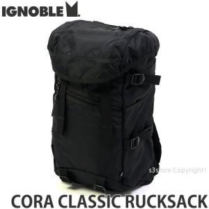 イグノーブル コラ クラシック ラックサック ignoble CORA CLASSIC RUCKSACK バックパック リュック かばん カラー:Black サイズ:36L|s3store
