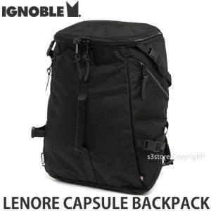 イグノーブル レノア カプセル バックパック ignoble LENORE CAPSULE BACKPACK メンズ リュック かばん カラー:Black サイズ:約27L|s3store