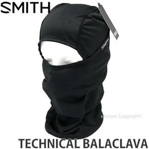 スミス テクニカル バラクラバ SMITH TECHNICAL BALACLAVA スノーボード バラクラバ フェイスマスク 防寒 バイク コーデ SNOW カラー:BLACK|s3store