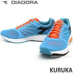 ディアドラ クルカ diadora KURUKA メンズ スニーカー ランニング ジョギング マラソン イタリア カラー:ブルー/オレンジFL|s3store