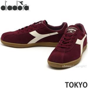 ディアドラ トウキョウ diadora TOKYO スニーカー シューズ 靴 タウン 街履き メンズ 男性 コーディネート SHOES Col:クラッシュベリー|s3store