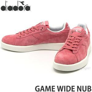 ディアドラ ゲーム ワイド ナブ diadora GAME WIDE NUB スニーカー シューズ 靴 タウン 街履き ウィメンズ レディース Col:アーモンド|s3store