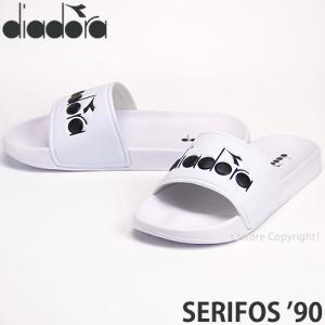 ディアドラ セリフォス 90 diadora SERIFOS '90 サンダル メンズ ユニセックス スリッパ シャワー トレーニング アウトドア カラー:White|s3store