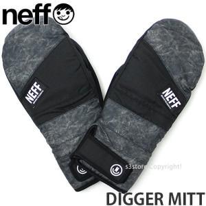 18model ネフ ディガー ミット Neff DIGGER MITT 17-18 スノーボード スキー グローブ ミトン メンズ SNOWBOARD GLOVE カラー:Chillers|s3store