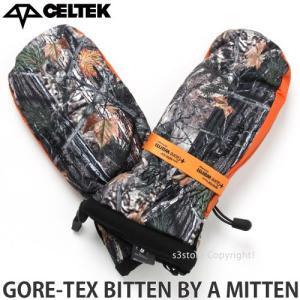 17 セルテック ゴアテックス ビトン バイ ア ミトン 【CELTEK GORE-TEX BITTEN BY A MITTEN】 16-17 スノーボード グローブ ミット SNOWBOARD カラー:Backwoods|s3store