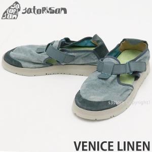 サトリサン ベニス リネン SATORISAN VENICE LINEN スニーカー シューズ スリッポン メンズ 靴 スペイン サンダル コーデ カラー:JEANS|s3store