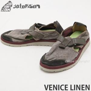 サトリサン ベニス リネン SATORISAN VENICE LINEN スニーカー シューズ スリッポン メンズ 靴 スペイン サンダル カラー:SUMMER RAIN|s3store