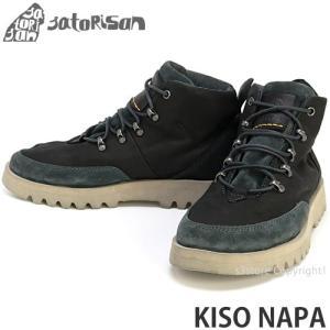 サトリサン キソ ナパ SATORISAN KISO NAPA ブーツ シューズ メンズ 靴 スペイン 中山道 木曽 PREMIUM SHOES カラー:BLACK|s3store