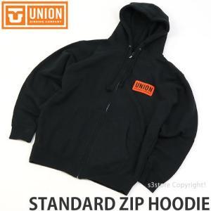 ユニオン スタンダード ジップ フーディー UNION STANDARD ZIP HOODIE メンズ アパレル 長袖 トップス パーカー SNOW カラー:BLACK|s3store