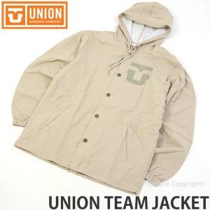 ユニオン ユニオン チーム ジャケット UNION UNION TEAM JACKET メンズ アパレル 長袖 アウター ジャンパー SNOW カラー:TAN|s3store