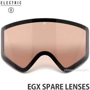 エレクトリック スペアレンズ ELECTRIC EGX SPARE LENSES 国内正規品 19model スノボ スキー ゴーグル GOGGLE レンズカラー:BROSE LIGHT|s3store