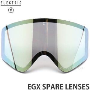 19md エレクトリック イージーエックス スペアレンズ ELECTRIC EGX SPARE 国内 交換用 スノーボード ゴーグル レンズ:GREY/GOLD CHROME JP|s3store
