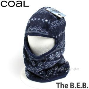 コール THE B.E.B. 【coal THE B.E.B.】 スノーボード バラクラバ フェイスマスク ビーニー SNOWBOARD BALACLAVA FACEMASK BEANIE サイクリング カラー:Navy|s3store