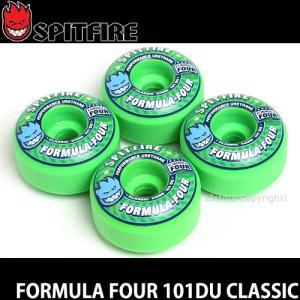 スピットファイヤー フォーミュラーフォー クラシック 【SPITFIRE FORMULA FOUR 101DU CLASSIC】 スケート ウィール F4 カラー:Gang Green|s3store
