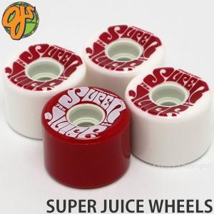 オージェイ スーパー ジュース ウィール OJ SUPER JUICE WHEELS スケートボード ソフト SKATE カラー:White N Red サイズ:60mm/78a|s3store