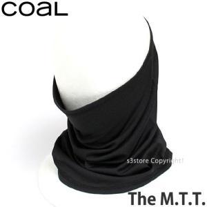コール THE M.T.T. 【coal THE M.T.T.】 スノーボード ネックウォーマー フェイスマスク ビーニー SNOWBOARD NECKWARMER FACEMASK BEANIE カラー:Black|s3store