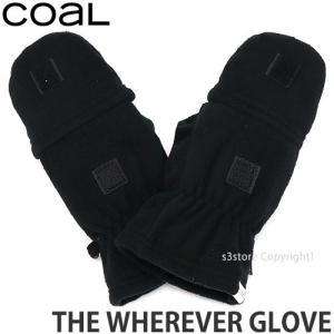 コール ウェアエバー グローブ coal THE WHEREVER GLOVE 手袋 コーディネート アパレル ファッション タウンユース 防寒 カラ―:Black|s3store